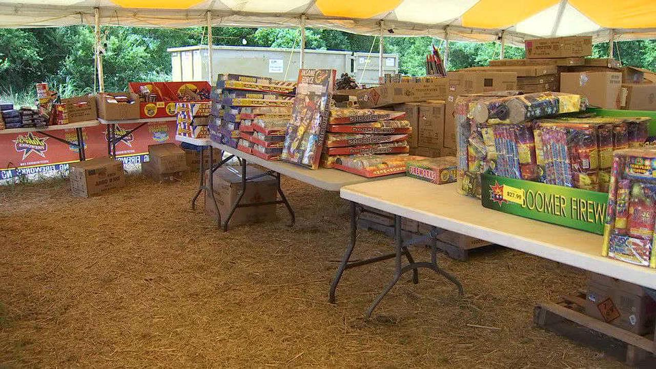 As the 4th of July approaches, there's a shortage of fireworks