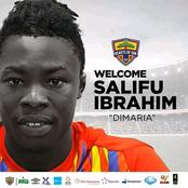Hearts of Oak finally signs long term transfer target Salifu Ibrahim