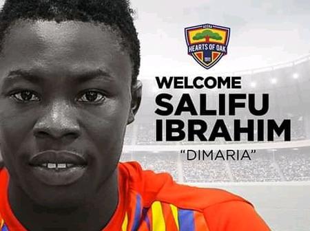 Hearts of Oak finally signs long term transfer target Salifu Ibrahim