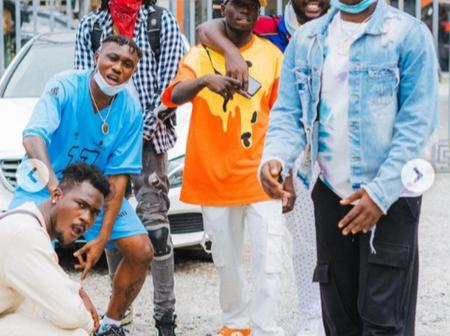 Check out photos of a Nigerian musician Zlatan Ibile chilling with his friends