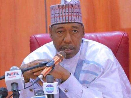 Photos: Governor Babagana Zulum visited sixteen hunters attacked by Boko Haram