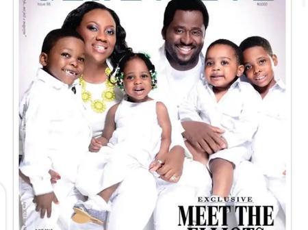 5 Nigerian celebrities who welcomed twins