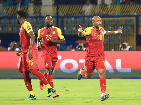 See why Ghana's win against Qatar is a big shame to the Ghana Black Stars.