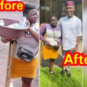 Imo State man raises I million Naira for a disabled girl to start a business
