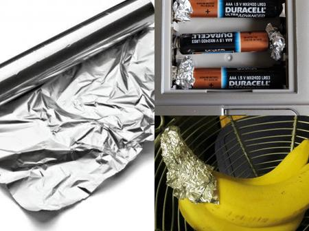 10 hacks with aluminum foil that can be useful at home