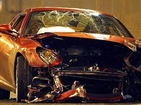5 Footballers Who Have Crashed Their Ferraris