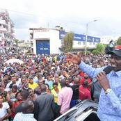 DP Ruto Pulls Out Mammoth Crowd in Meru County -PHOTOS