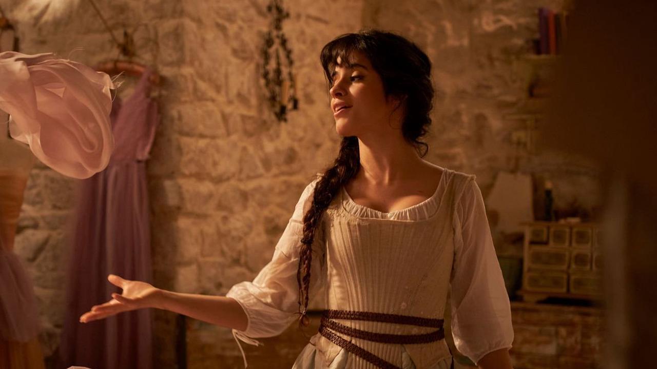 First look at Camila Cabello as Cinderella