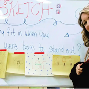 Teacher becomes Famous after Wearing One Questionable Dress to School
