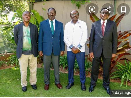 The fruit of Raila Odinga Mukhisa Kituyi and Kivutha Kibwana meeting last week