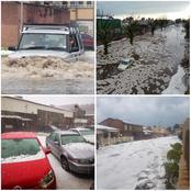 Crazy Weather! Check What Happened in Benoni