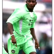 Meet the former Nigerian footballer whose career ended due to complications of eye problem