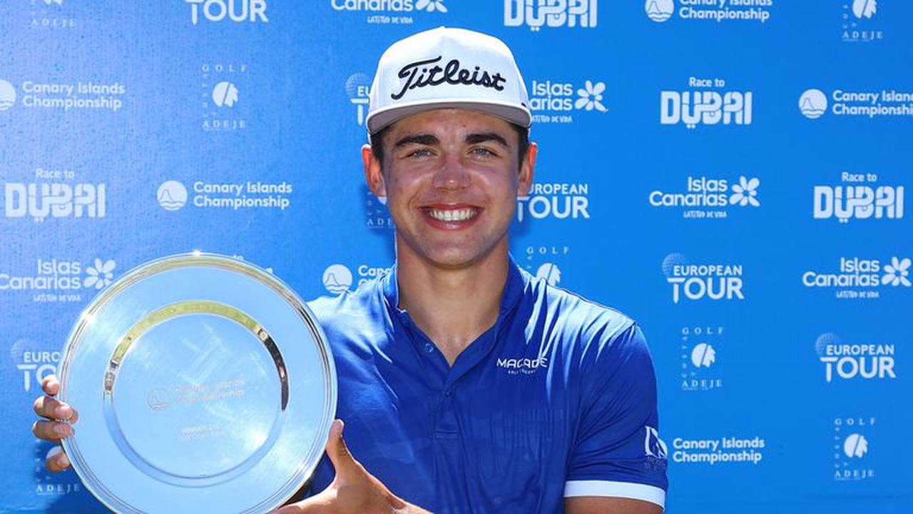 Garrick Higgo makes first pro hole-in -one and wraps up six-shot win in Canary Islands Championship