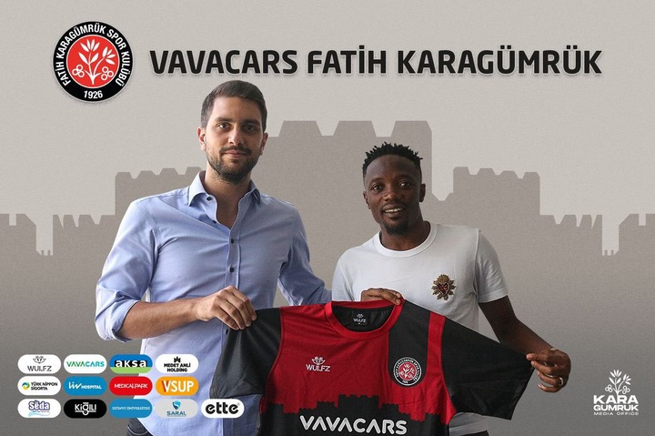 Super Eagles captain, Ahmed Musa is unveiled as new Karagumruk SK player in Turkey (photos)