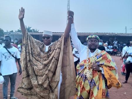 Gagnoa/Législatives 2021 : investiture des candidats Zady Djédjé et Koné Moussa