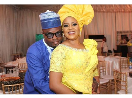 Jide Kosoko's Daughter Shares Couple's Photo, Says He's My Husband