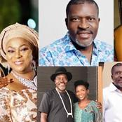 Popular Nigerian Actor Kanayo O. Kanayo Just Turned 59 Today, See Lovely Photos Of His Wife And Kids