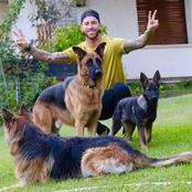 Photos of Bruno Fernandes, Ronaldo, Neymar and other top footballers with their pets