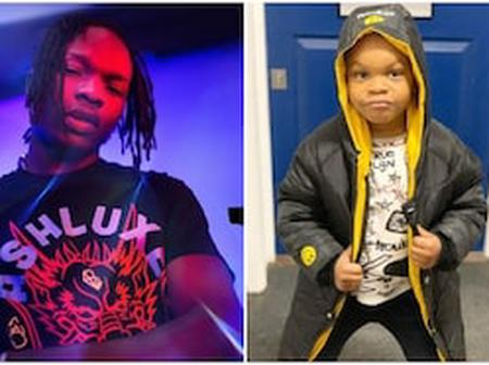 Meet the Son of Naira Marley that Looks Exactly Like Him (Photos)