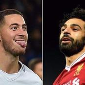 Mohamed salah has proved he's better than Eden hazard