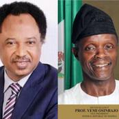 Never Out Shine Your Master, People Replied Shehu Sani for Saying Osinbanjo is Living a Lay Low Life