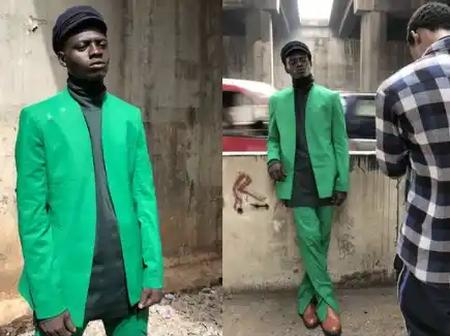 Homeless man becomes a super model after he was seen under a bridge in Lagos; Read how it happened