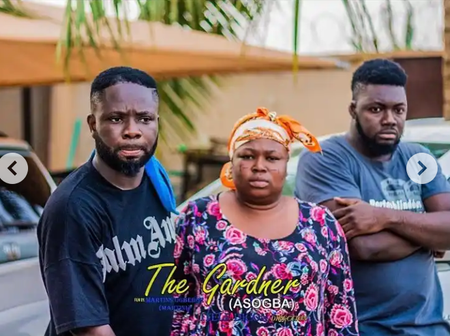 Itele shares pictures from set of a new movie with Bukola Arugba, Akin Lewis
