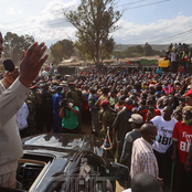 Uhuru Pulls a Mammoth Crowd in Samburu County, Here's Exclusive Details of His Visit [Photos]