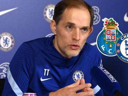 Thomas Tuchel Drops Hints On Chelsea vs Porto Quarter Finals Clash