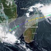 Tropical Cyclone Eloise head to South Africa.