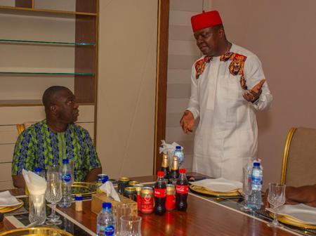 VCO pays Condolence Visit to Senator Ekweremadu, Intimates Him of Plans For Ndi Igbo.