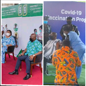 These People Are Next To Take The Covid-19 Vaccines After President Akuffo Addo Took The First Dose