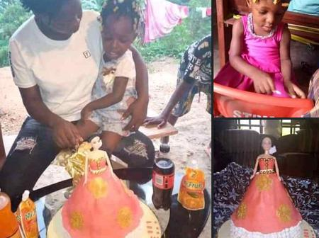 Check out what a three year old birthday celebrant did when asked to cut her birthday cake