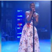 American Rapper Causes A Stir Online After Wearing A Dress To A Performance