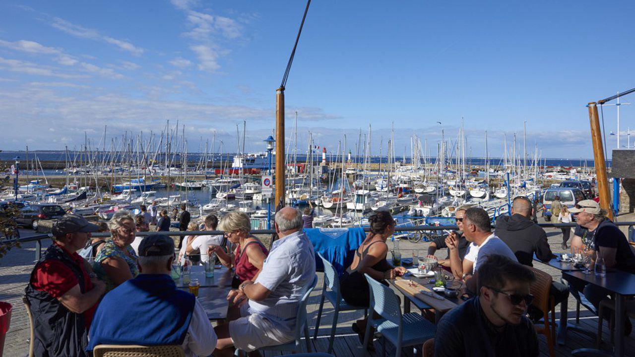 L'île de Groix s'organise pour gérer l'affluence estivale Contenu réservé aux abonnés
