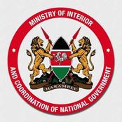 Job opportunities: Ministry of Interior and Co-ordination of National Government Announces Vacancies