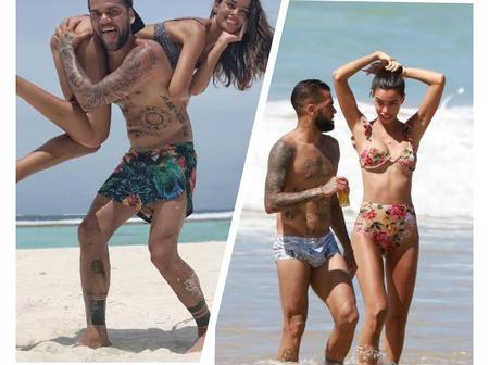 Beautiful Pictures Of The 27-Year-Old Lady Dani Alves Is Married To