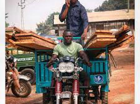 N/R. Two Involved In A Motorking and Motorbike Accident At Adibo In The Yendi Municipal.