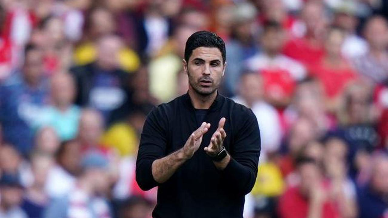 Arsenal boss Mikel Arteta impressed with Gunners' defending from the front