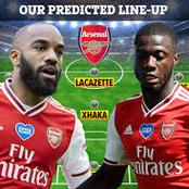 The Best Arsenal Starting X1 to Face Sheffield United Today With Martinelli and Pepe