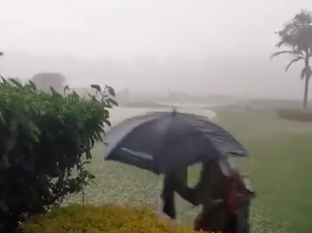 Nairobi Hit By Hailstones As More Rainfall Expected In The Next 24Hours
