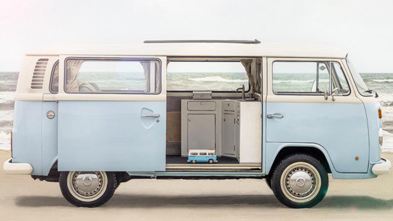 Lego bringt legendären VW-T2-Bulli als Campingbus