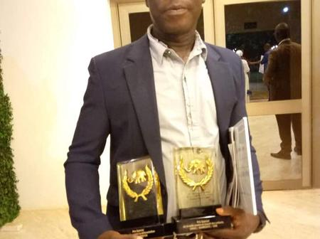 Nuit des Ebony 2020 : Gabo Kobe Germain remporte le Prix CNS/RAMEDE-CI