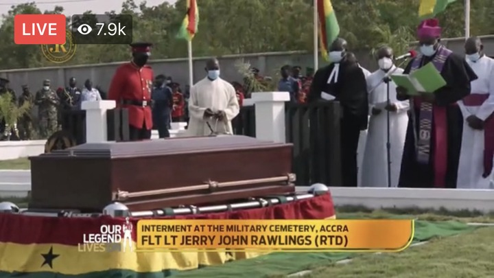 135dd17e85f14dcc8688474c99b7f6d2?quality=uhq&resize=720 - Sad Moment: How JJ Rawlings Was Conveyed By The Military To The Newly Built Burna Camp Cemetary