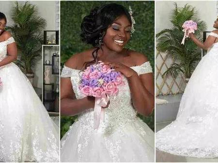 See Beautiful Throw Back Wedding Pictures Of Emelia Brobbey That Struck The Internet