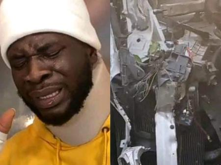 Comedian CrazeClown Miraculously Survives Ghastly Car Crash On His Wife's Birthday. See What He Wrote