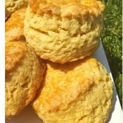 Simple recipe and instructions for making scones.