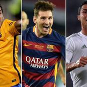 Between Ronaldo, Messi and Suarez, check who has scored 6 goals in a single match
