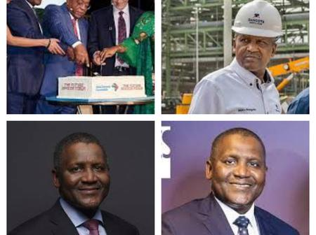 Aliko Dangote's Birthday Is Today, Check His New Age, His Cute Photos And His Current Net Worth