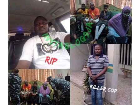 Reactions As Policeman Shot A Business Man For Demanding For Explanation